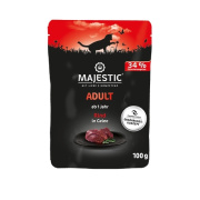MAJESTIC Katzennassfutter Adult Rind in Gelee 100g